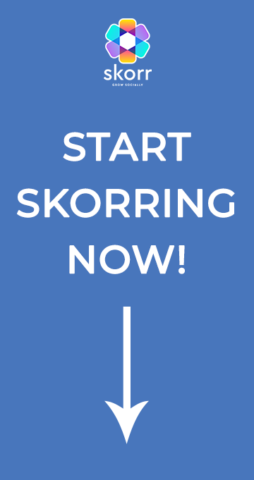 Start Skorring - Download Skorr Now!
